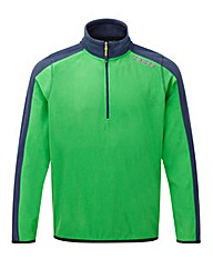 Tog24 Ally Mens Tcz Fleece Zip Neck