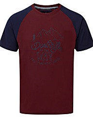 Tog24 Saturn Mens T-shirt Downhill