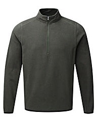 Tog24 Sixa Mens TCZ 100 Fleece Zip Neck