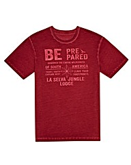 Kayak Mighty Be Prepared Print T-Shirt