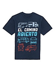 Kayak Tall El Camino T-Shirt