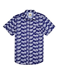 Kayak Tall Hawaiian Print Shirt