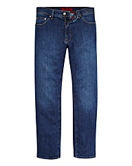 Pierre Cardin Mid Wash Jeans 34in Leg