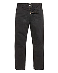 Kayak Black Jeans 35in Leg