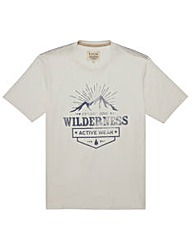 Kayak Tall Wilderness T Shirt