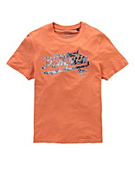 Original Penguin Since 1955 Coral Tee