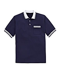 Southbay Short Sleeve Polo Shirt Long