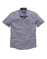 Peter Werth Short Sleeve Gingham Shirt R