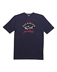 Paul & Shark Mighty Classic Logo T-Shirt