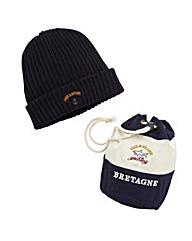 Paul & Shark Knitted Beanie Hat