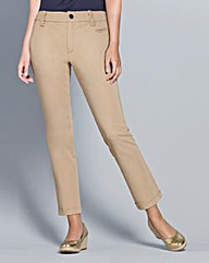 Top to Toe Chino Capri Trousers 23in