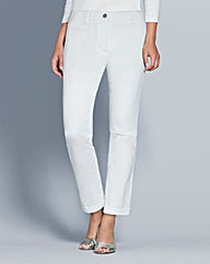 Top to Toe Chino Capri Trousers 25in