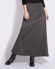 Top to Toe Ponte Maxi Skirt