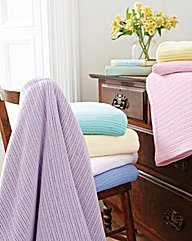 Pure Cotton Blanket Pack of 2