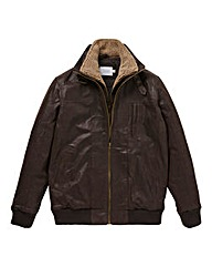 WILLIAMS & BROWN Aviator Leather Jacket