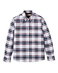 WILLIAMS & BROWN Check Oxford Shirt