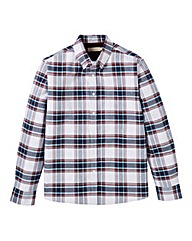 WILLIAMS & BROWN Check Oxford Shirt Reg