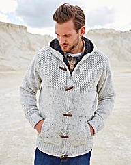 WILLIAMS & BROWN Fleece Lined Cardigan