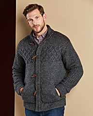 WILLIAMS & BROWN Jersey Lined Cardigan