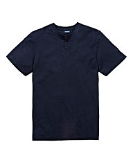 Southbay Unisex Navy Grandad Shirt