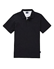 Southbay Unisex Black S/S Polo Shirt