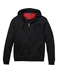 Southbay Unisex Black Zip Hooded Sweat