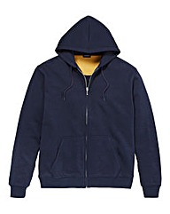 Southbay Unisex Navy Zip Hooded Sweat
