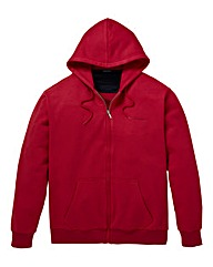Southbay Unisex Dk Pink Zip Hooded Sweat
