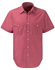 Premier Man S/S Berry Pilot Shirt