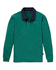 Southbay Unisex Green Fleece Rugby Shirt