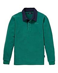 Southbay Unisex Green Fleece Rugby Shirt