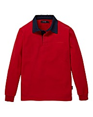 Southbay Unisex Red Fleece Rugby Shirt
