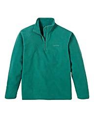 Southbay Unisex Green Zip Neck Fleece