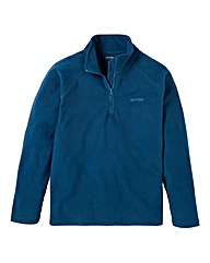 Southbay Unisex Teal Zip Neck Fleece