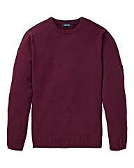 Southbay Unisex Plum Crew Neck Sweater