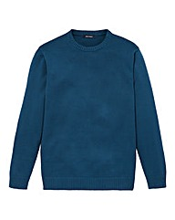 Southbay Unisex Teal Crew Neck Sweater