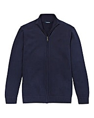 Southbay Unisex Navy Zipper Cardigan