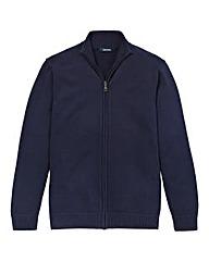 Southbay Unisex Navy Zipper Cardigan