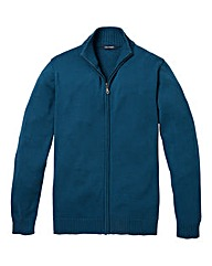 Southbay Unisex Teal Zipper Cardigan