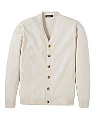 Southbay Unisex Cream Button Cardigan