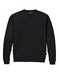 Southbay Unisex Black Crew Sweatshirt