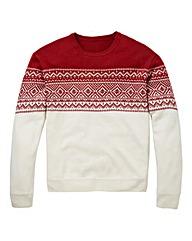 Southbay Unisex Cream Fairisle Sweater