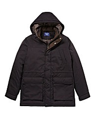 Premier Man Black Car Coat
