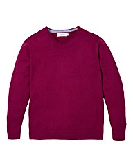 WILLIAMS & BROWN Tall V Neck Jumper