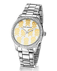 Mark Maddox Ladies Bracelet Skull Watch