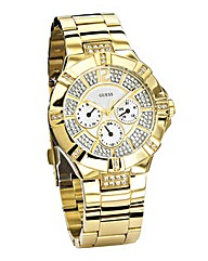 Guess Ladies Gold Coloured Watch