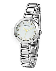 Seconda Ladies Silver Bracelet Watch