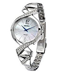 Seiko Ladies Silver Coloured Dress Watch