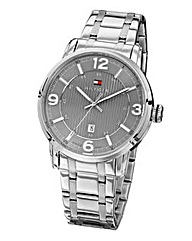 Tommy Hilfiger Silver Coloured Watch