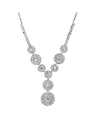 Jon Richard Diamante Pave Necklace